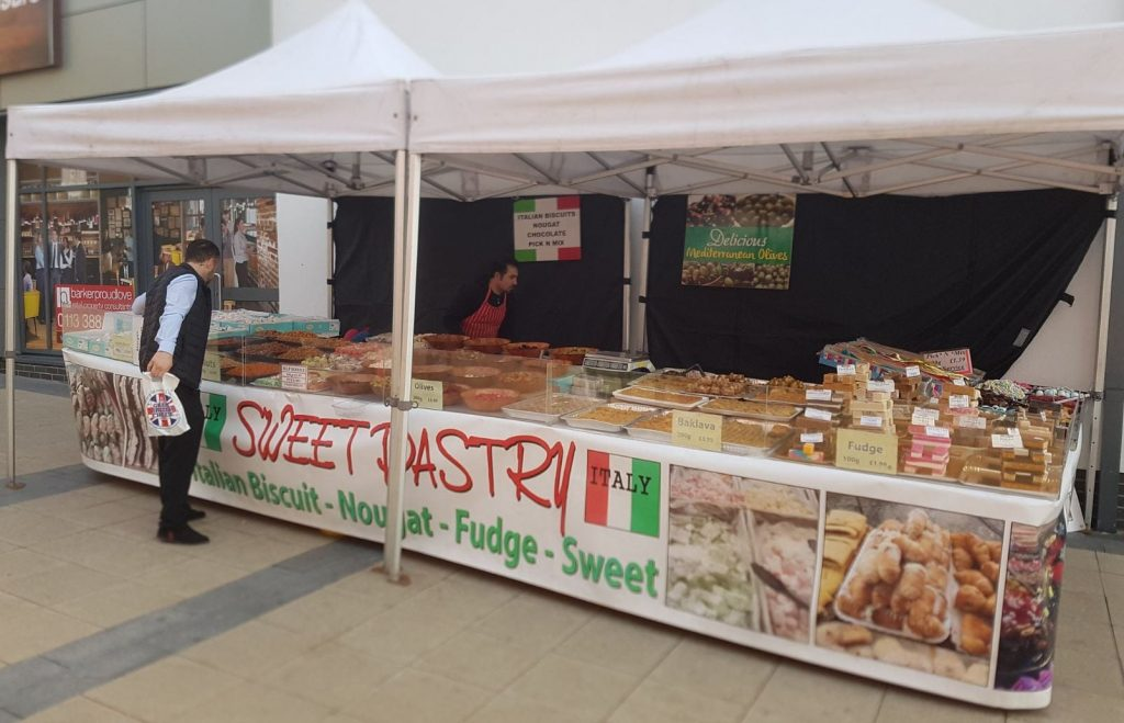 Visit Cleveleys continental market at the plaza on the seafront this May