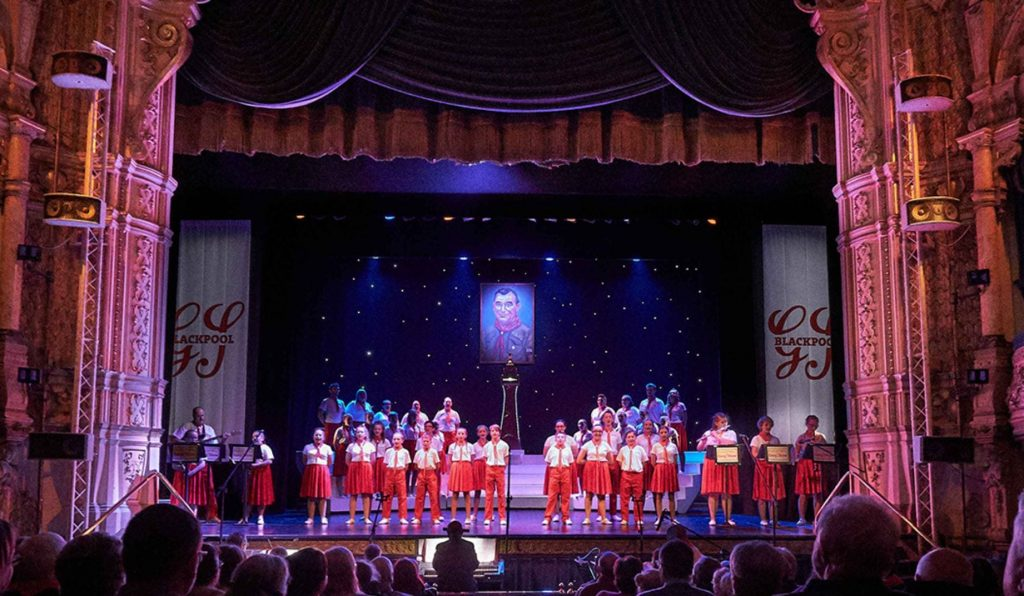 Blackpool Scout Gang Show at Blackpool Grand Theatre