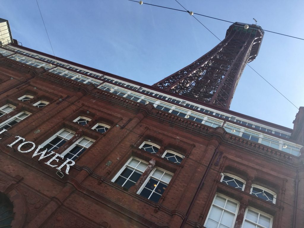 Blackpool Tower on it's 125th Birthday