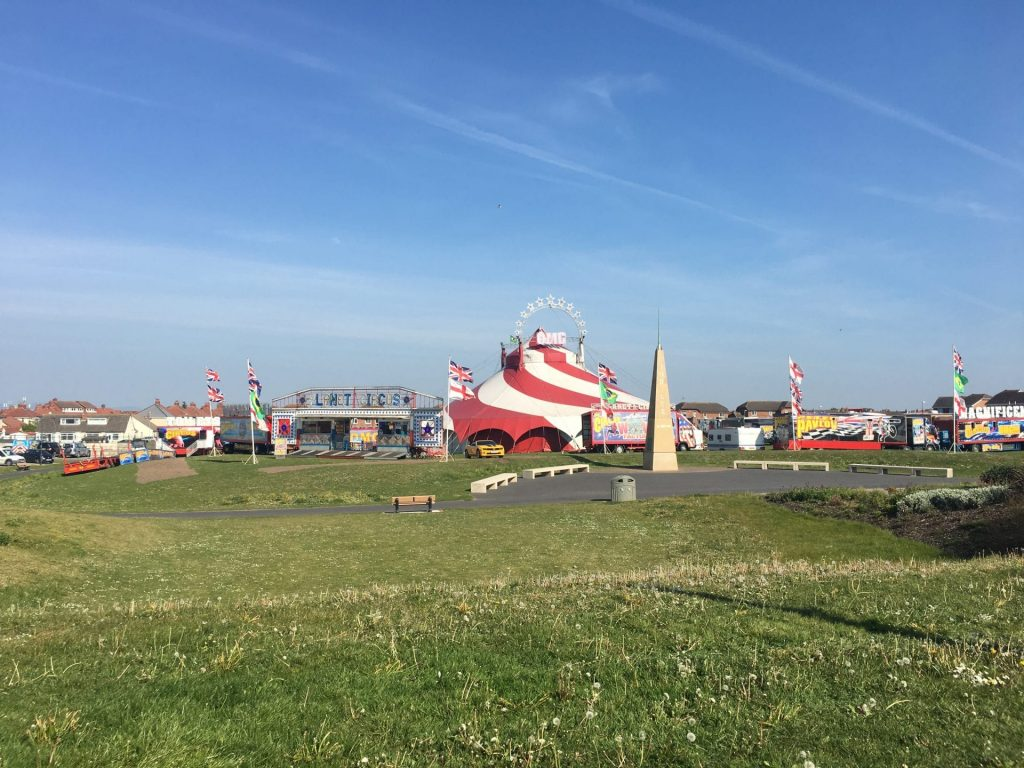 Circus comes to Cleveleys