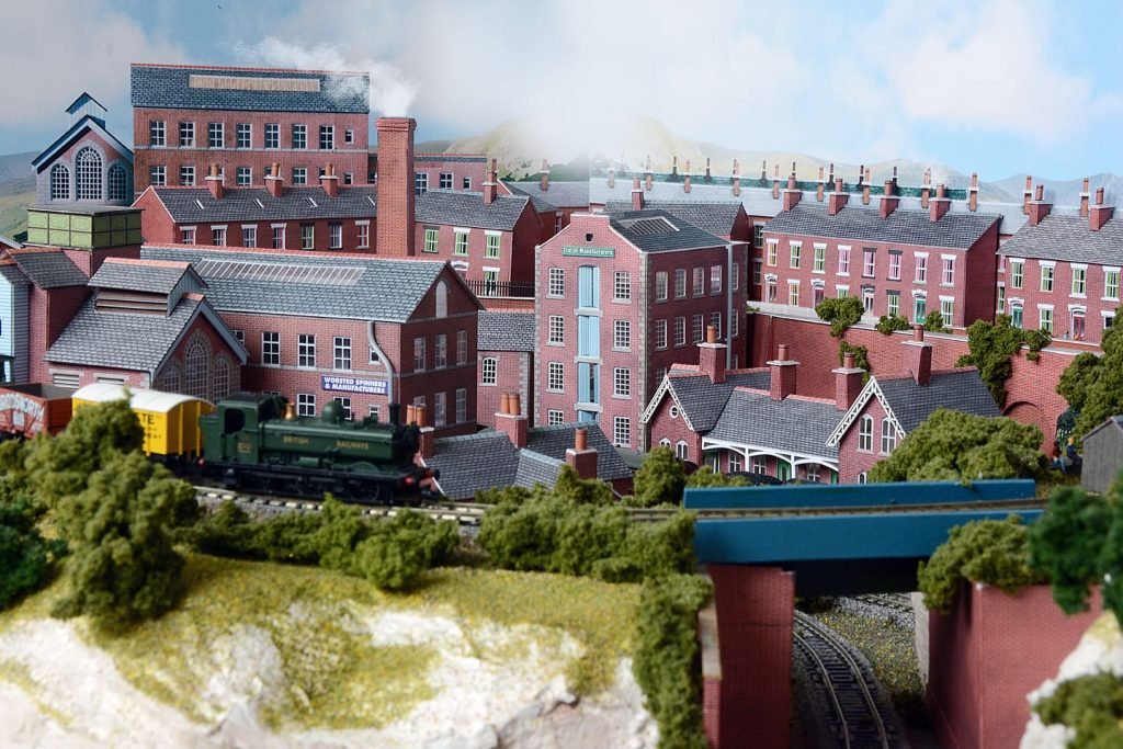 Derek's model railway layout