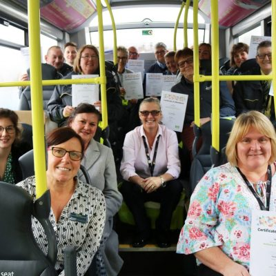 Blackpool Transport Trains Wellbeing Ambassadors
