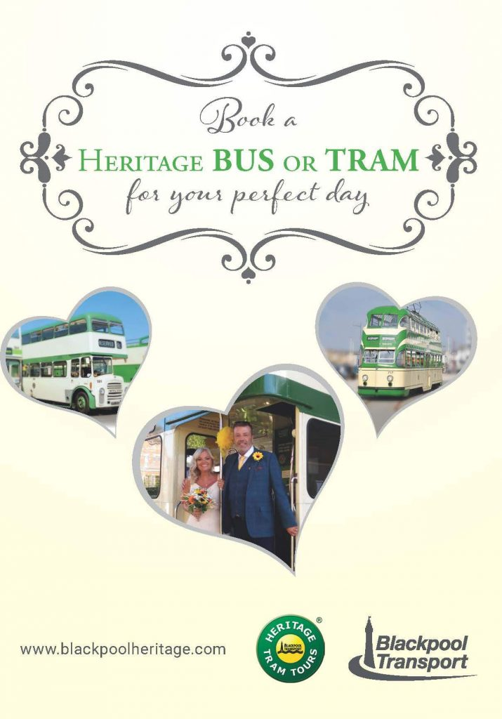 Blackpool Heritage Trams Wedding Hire
