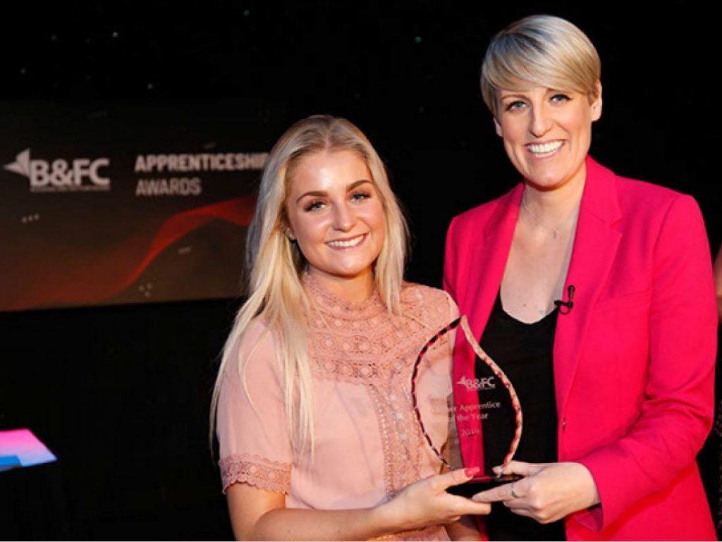 Higher Apprentice of the Year Ella Penswick