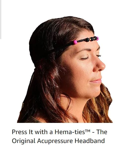 Acupressure band for migraine