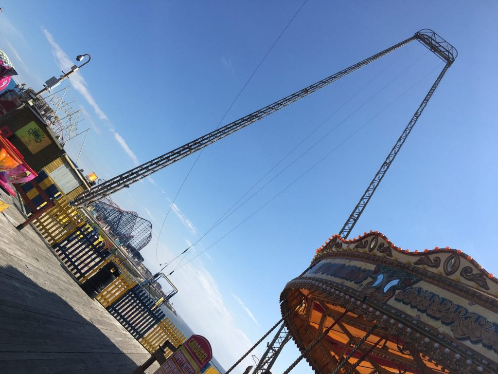 Adrenaline rides at the end of South Pier