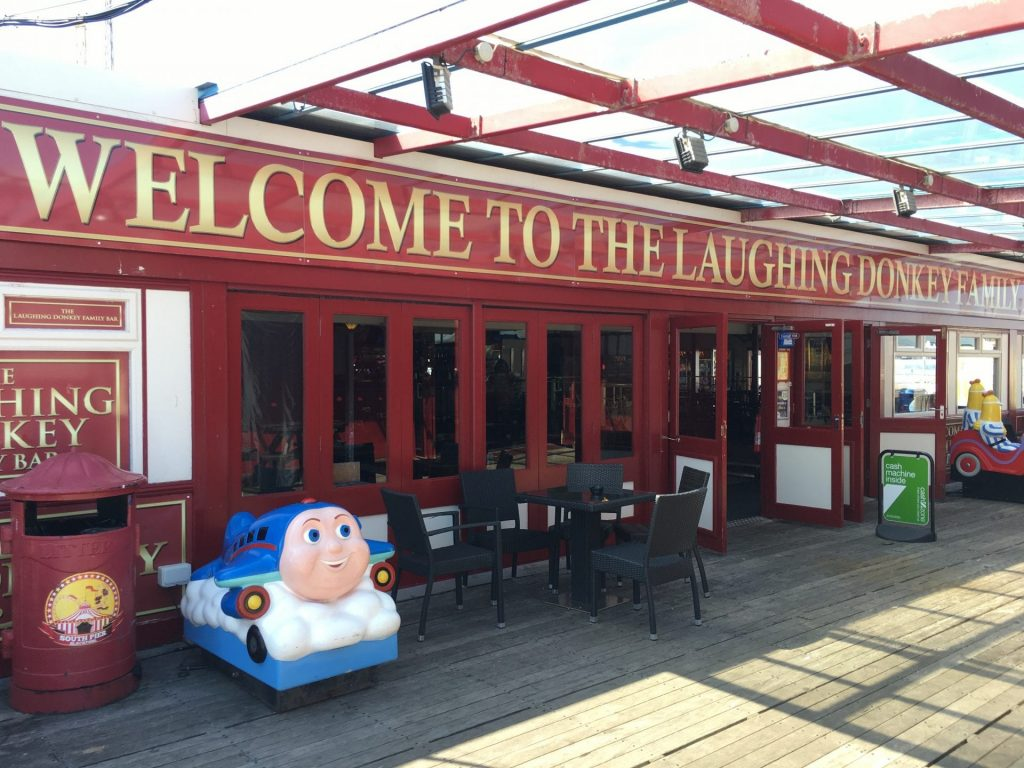 Laughing Donkey Family Bar at South Pier