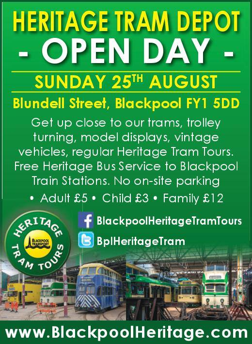 Heritage Tram Depot Open Day with Heritage Tram Tours