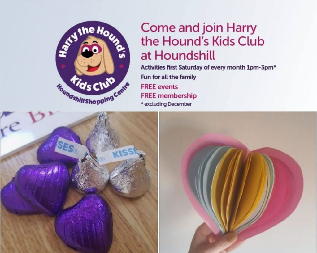 July 2019 Kids Club at Houndshill Shopping Centre