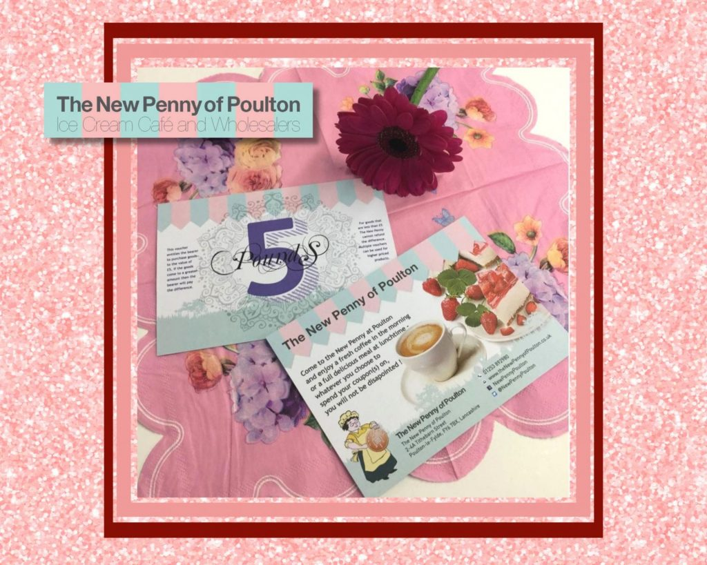 Gift vouchers at the New Penny of Poulton