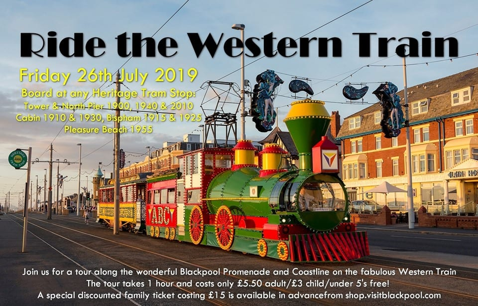 Ride the Western Train with Blackpool Heritage Tram Tours