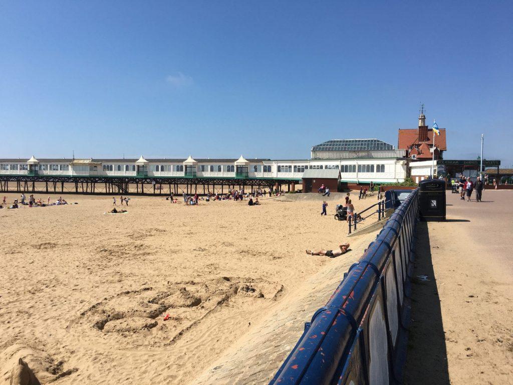 St Annes Beach and Pier