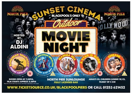 Sunset Cinema at Blackpool North Pier