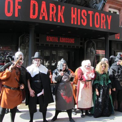 NEW Show at the Blackpool Tower Dungeon...