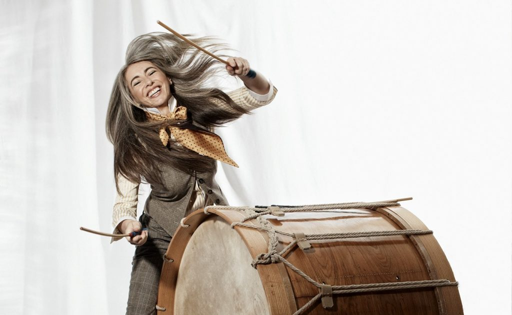 Evelyn Glennie LIVE in Fleetwood. Hosted by Access Fylde Coast