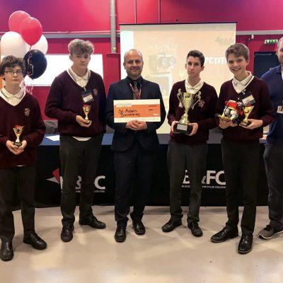 St Aidan's High School wins Blackpoolrobo 2019 Competition