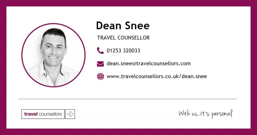 Dean Snee, Travel Counsellors