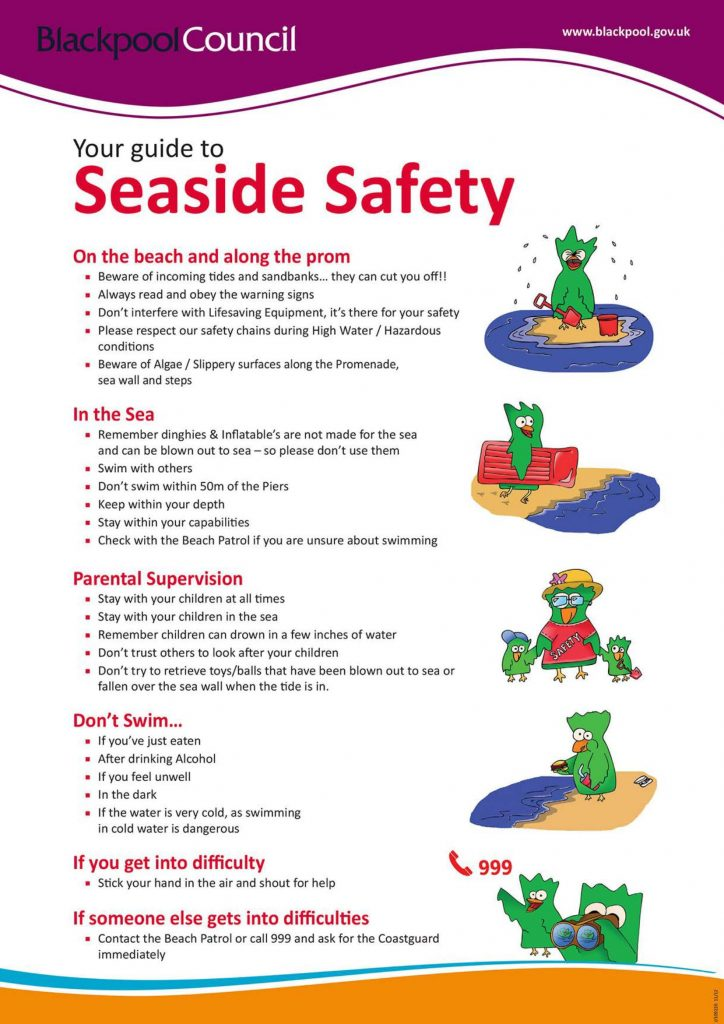 Seaside and Beach safety