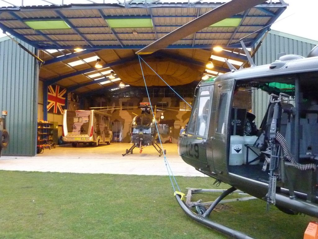 The Huey Helicopter Hangar