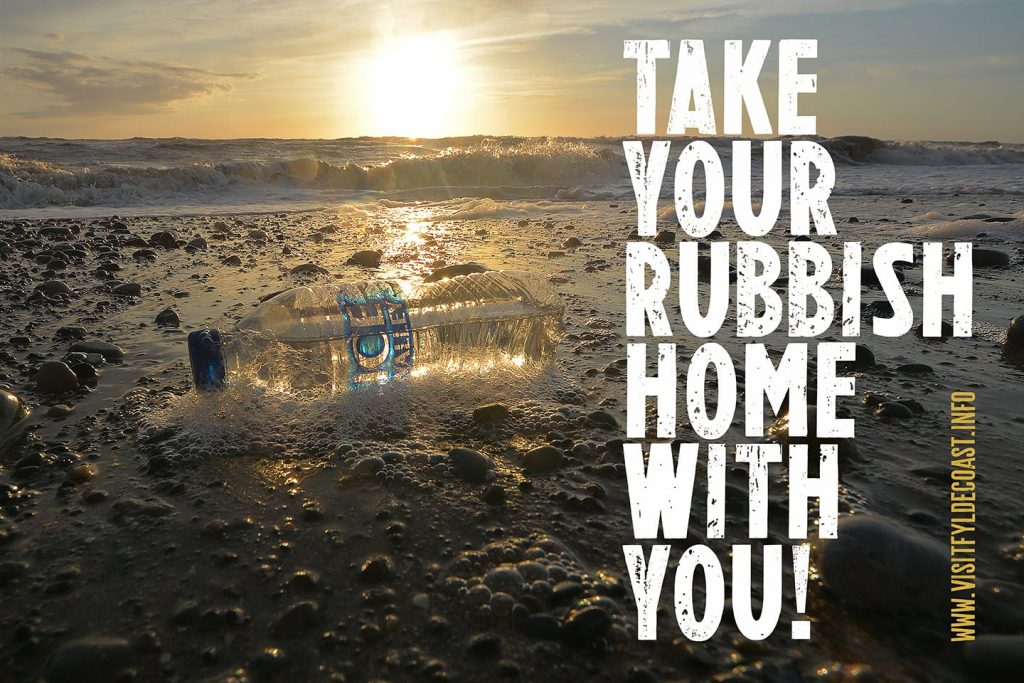 Take your rubbish home with you
