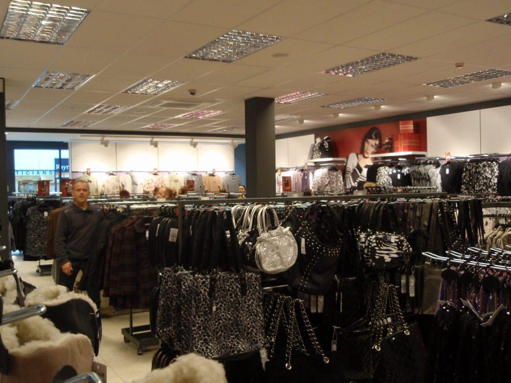 Inside Store Twenty One when it opened in November 2010