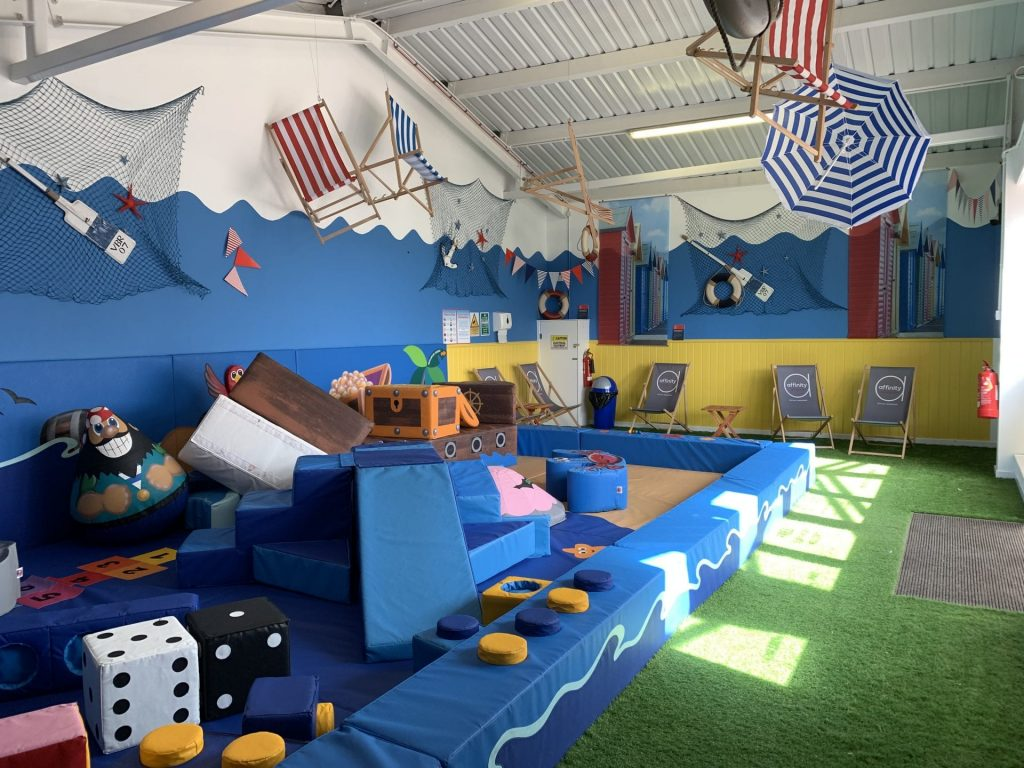 Jolly Jacinta's Childrens Soft Play area at Affinity Lancashire
