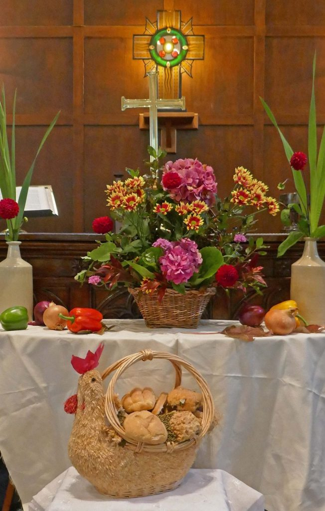 Harvest Festival at The White Church at Fairhaven. Photo: Sue Massey