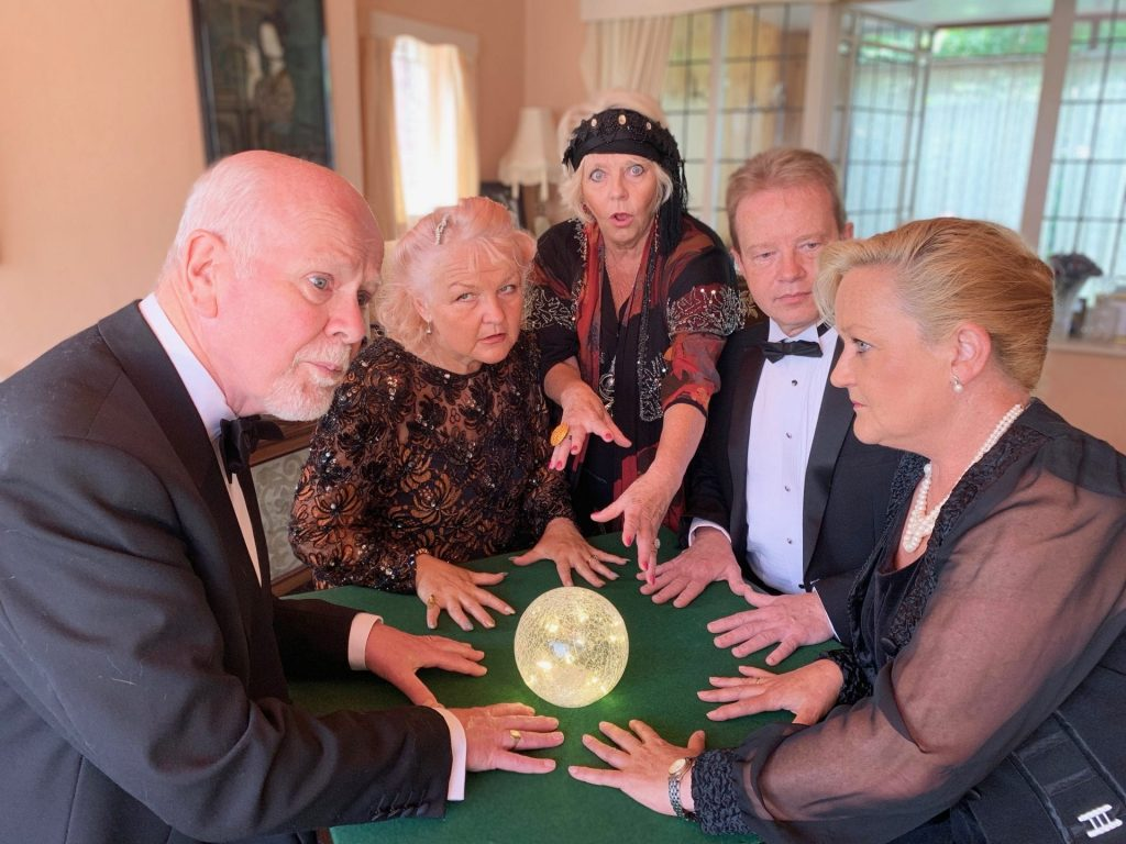 Anonymous Players present Blithe Spirit