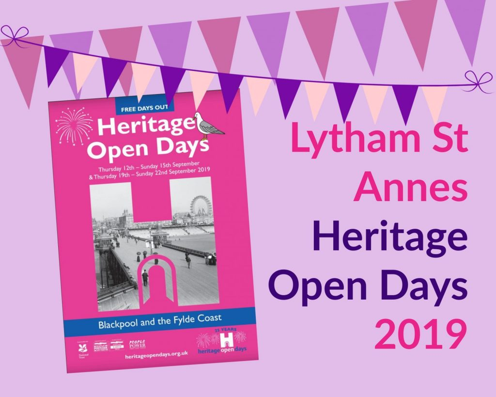Lytham St Annes Heritage Open Days 2019