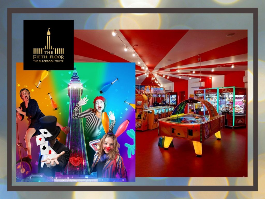 Fun for all the family at the Fifth Bar at the Blackpool Tower