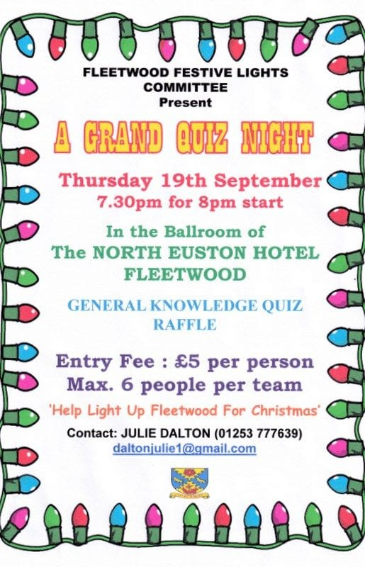 Fleetwood Festive Lights Quiz Night