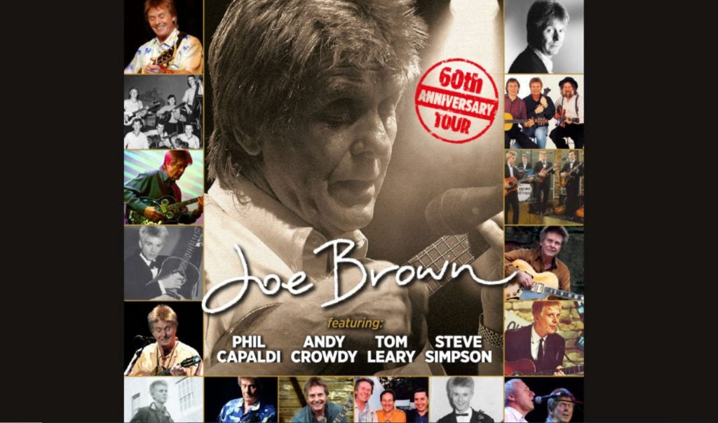 Joe Brown in Concert at Blackpool Grand Theatre