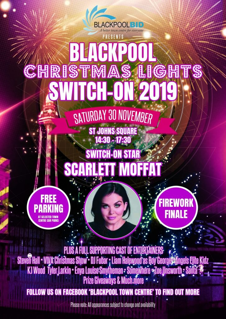 Blackpool Christmas Lights Switch On 2019