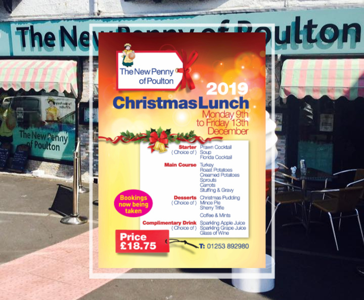 Christmas Lunch at the New Penny of Poulton