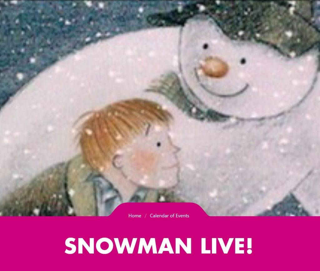 Snowman Live at The Blackpool Tower
