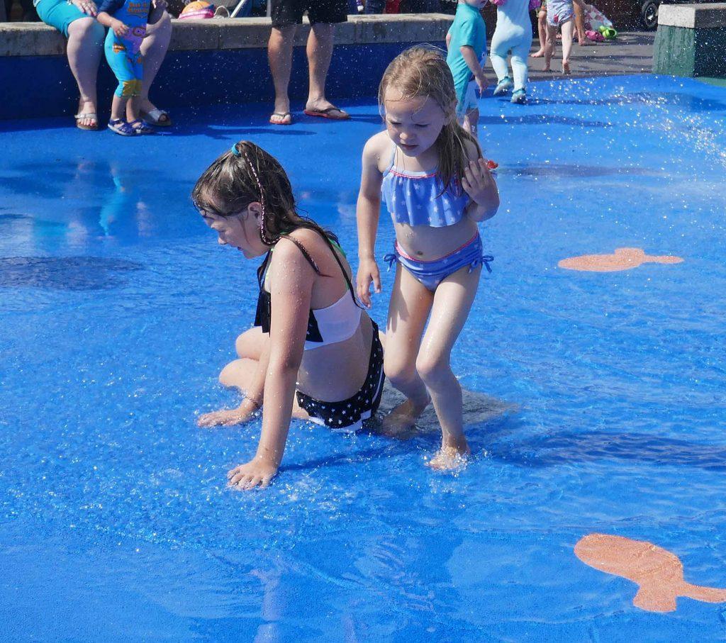 Enjoying Splash at St Annes