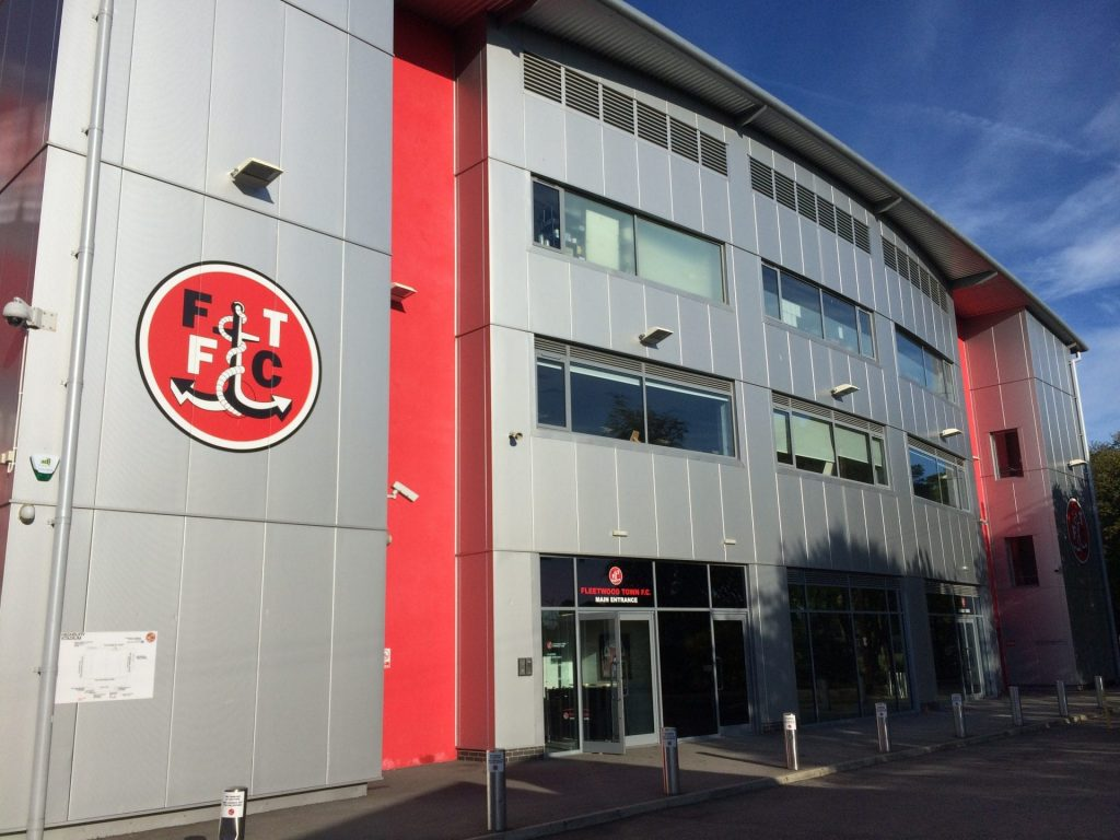 Fleetwood Town Football Club, Highbury Stadium