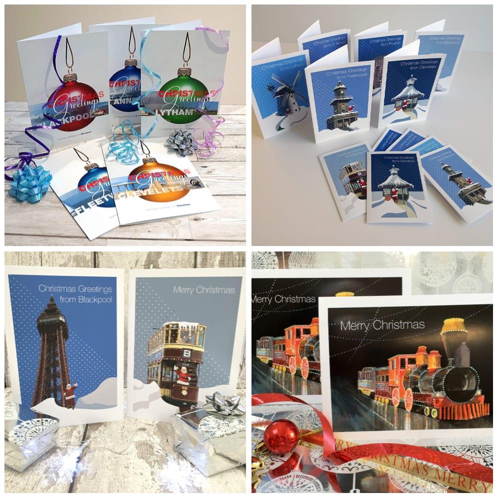 Christmas Cards from Seaside Emporium