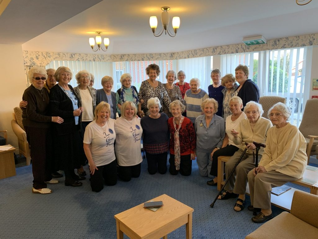 Singalong with Just Good Friends at ICare Links View