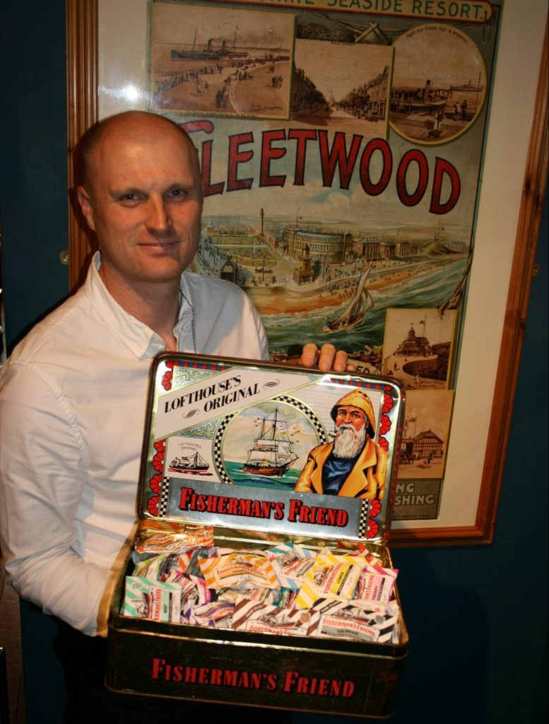 Fishermans Friend Exhibition at Fleetwood Museum in 2020