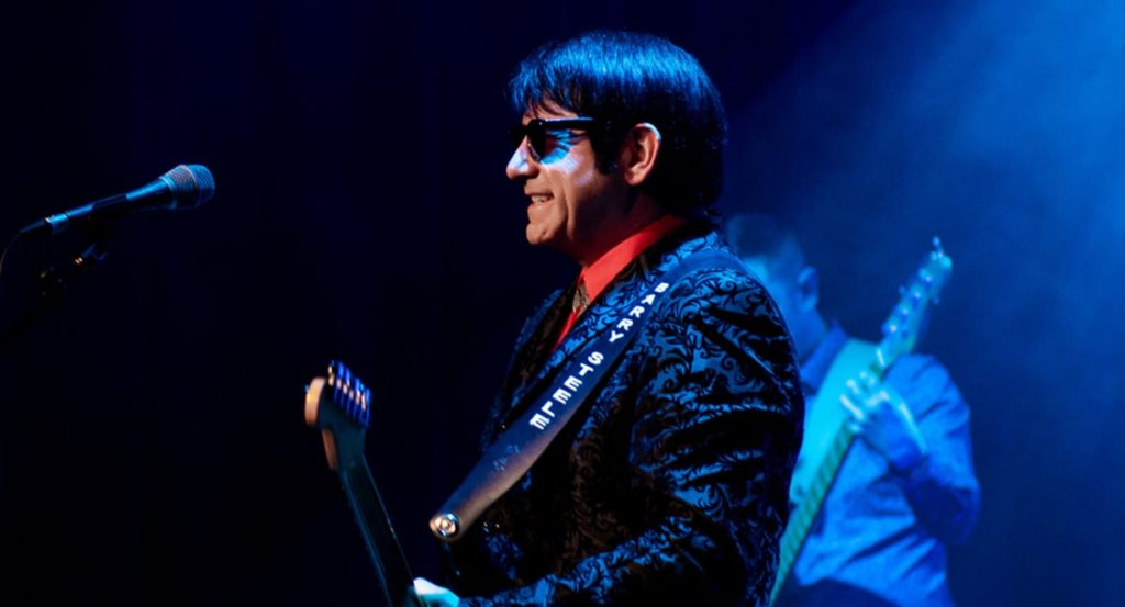 Barry Steele in The Roy Orbison Story at Blackpool Grand Theatre