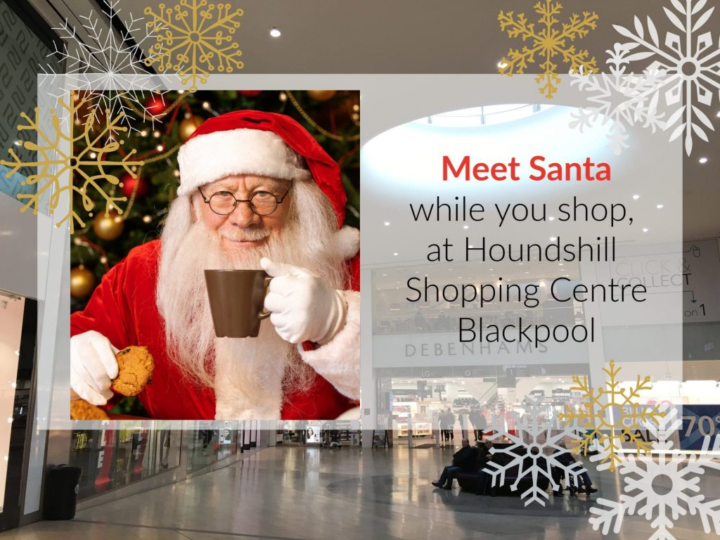 Meet Santa this Christmas at Houndshill Shopping Centre