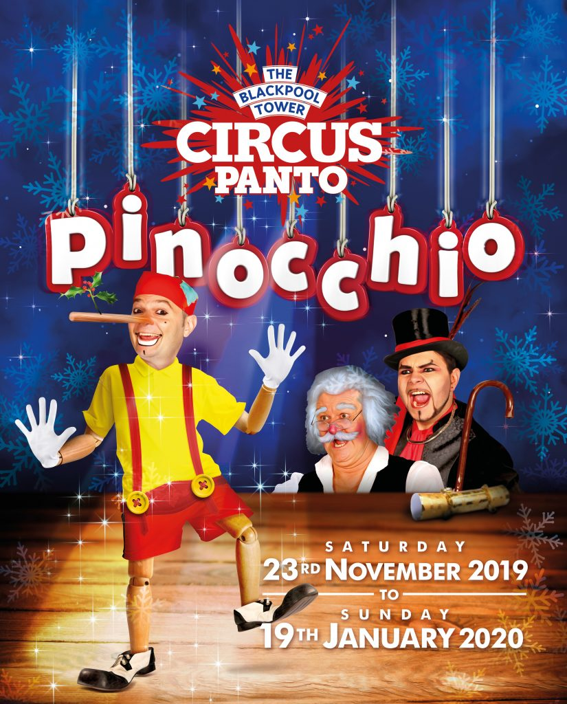 Blackpool Tower Circus Panto 2019, Pinocchio