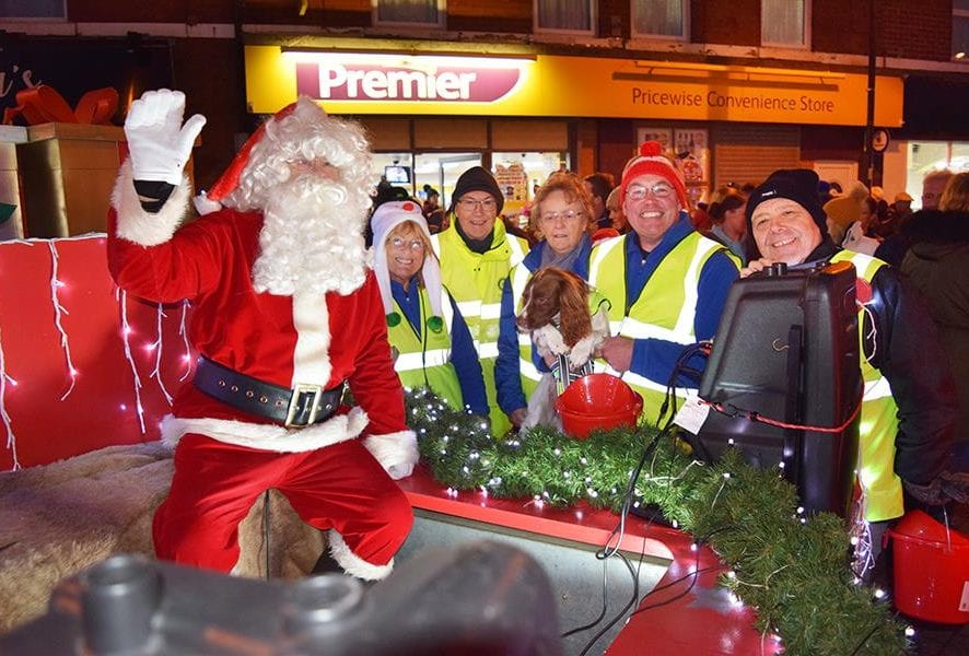 Details for Fleetwood Santa Sleigh Run 2019. He'll be attempting to get around as much of the area as possible