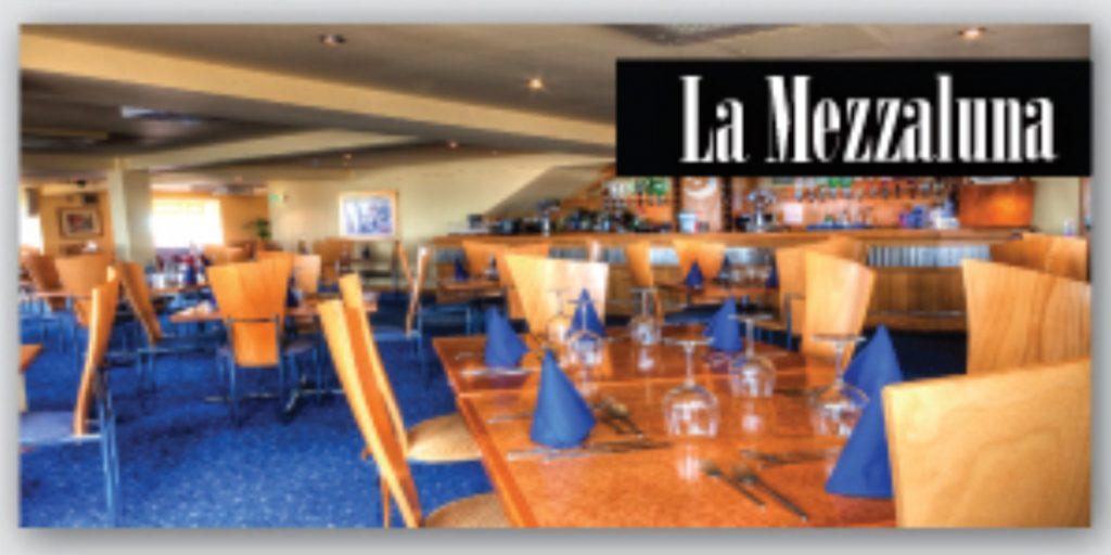 La Mezzaluna Restaurant, upstairs at The Venue, Cleveleys