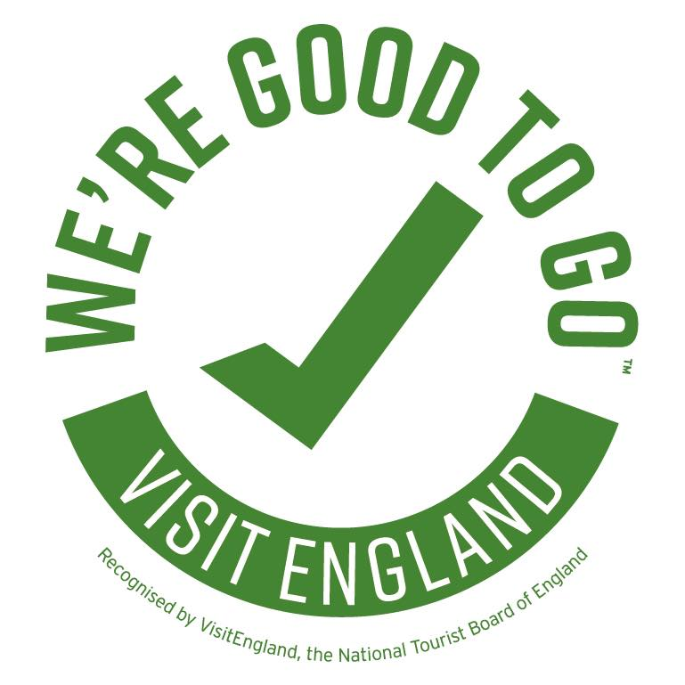 Good to Go, certified by Visit England