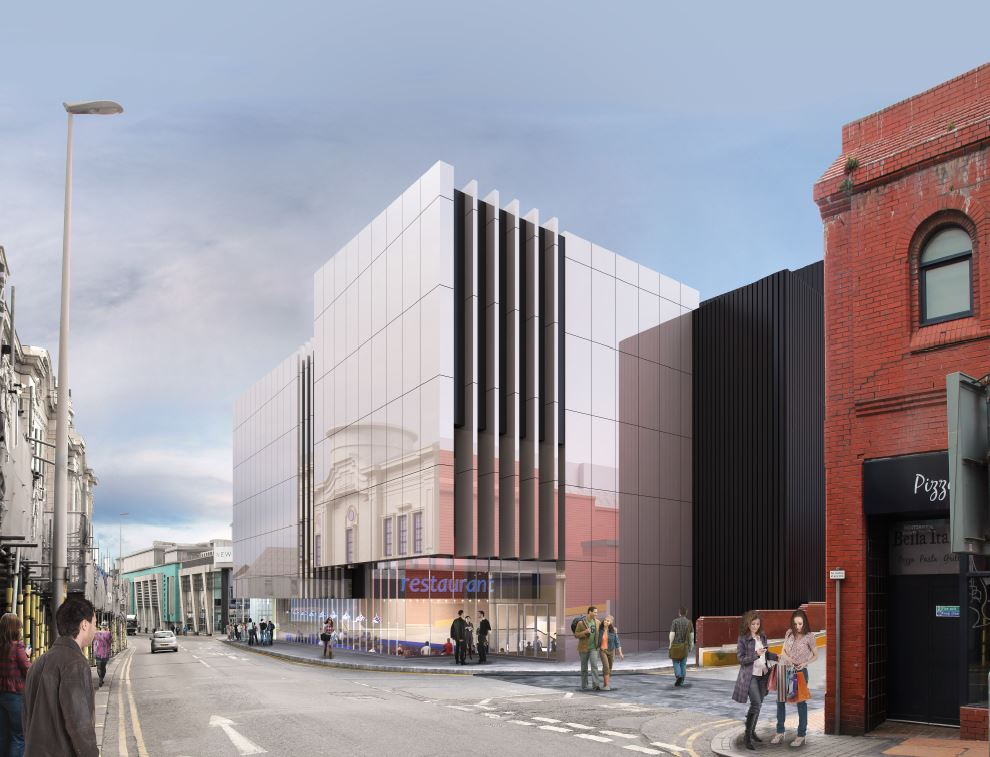 Houndshill Extension and Tower Street Development