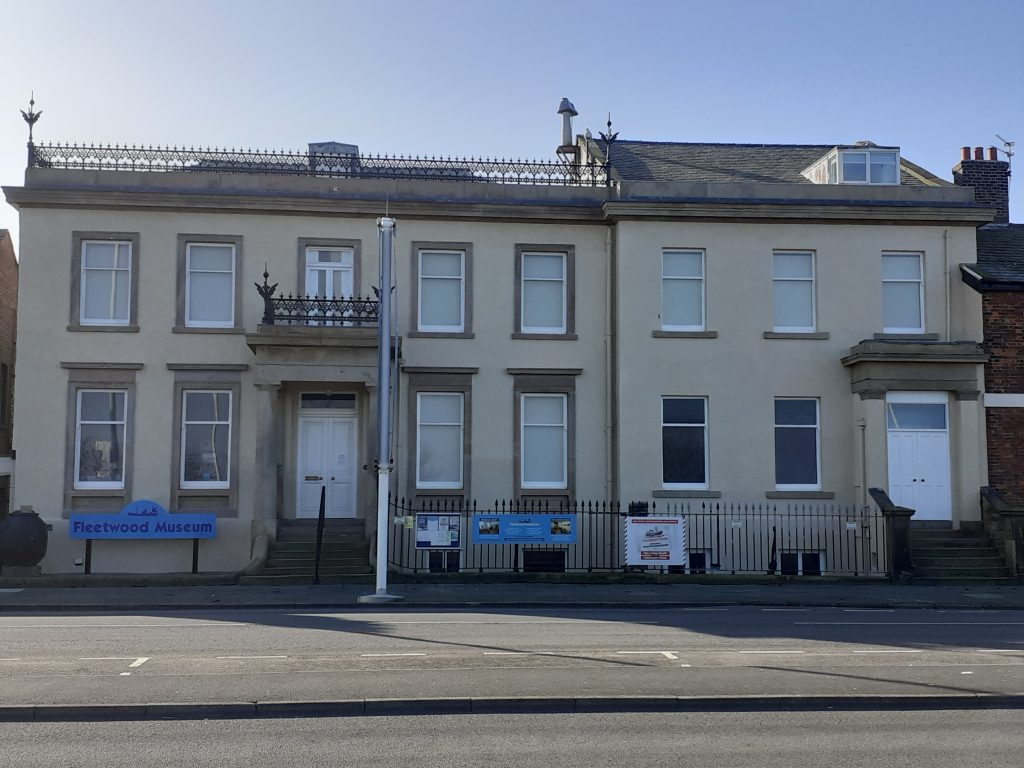 Fleetwood Museum shows off the new frontage in 2021
