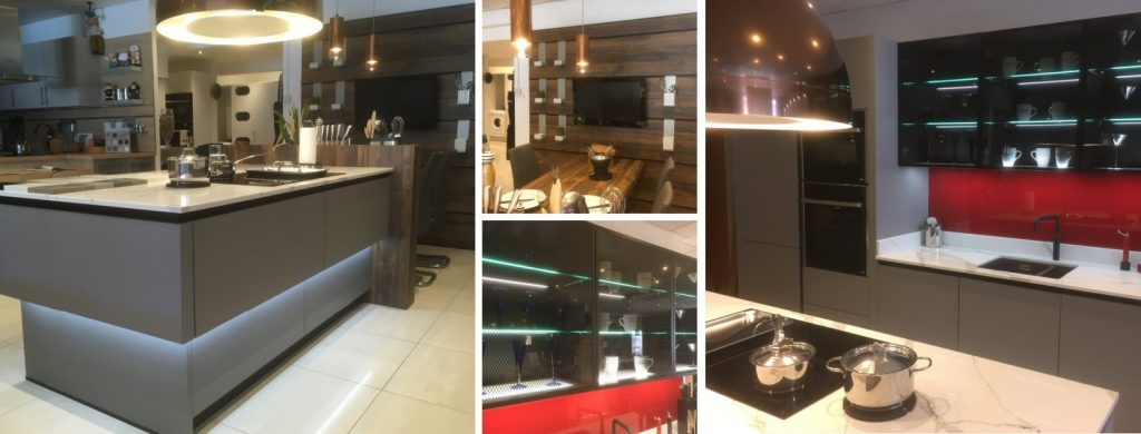 New kitchen displays at Robert Pallant Designs
